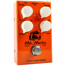 J. Rockett Mr. Moto tremolo and spring reverb effects pedal