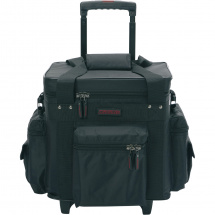 (B-Ware) Magma LP-Bag 100 Trolley schwarz-rot