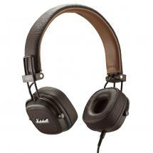 Marshall Lifestyle Major III on-ear headphones, brown