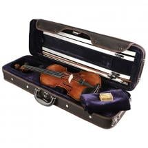Leonardo LV-5044 4/4 violin with case, bow and rosin