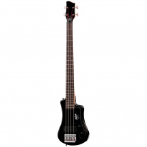 (B-Ware) Hofner Shorty Bass Guitar CT Black E-Bass, Reise-Modell