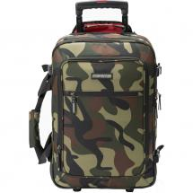 Magma DIGI Carry-On Trolley camouflage, green/red