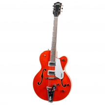 (B-Ware) Gretsch G5420T 2016 Electromatic Hollow Body with Bigsby Orange Orange Stain