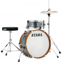 Tama LJK28S-GXS Club Jam Mini 2-piece shell set, Galaxy Silver
