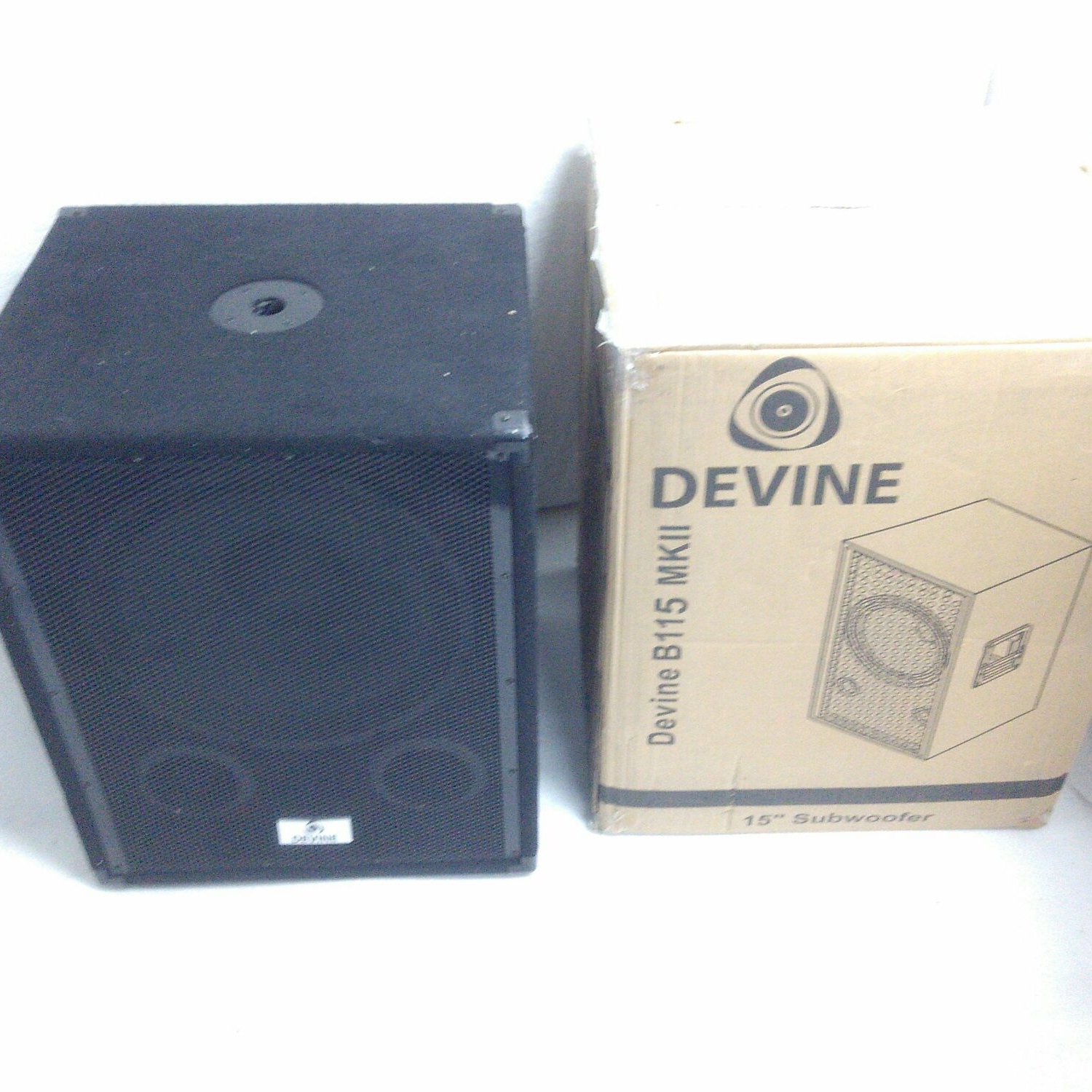 b ware devine b115 mkii passiver subwoofer kaufen bax shop. Black Bedroom Furniture Sets. Home Design Ideas