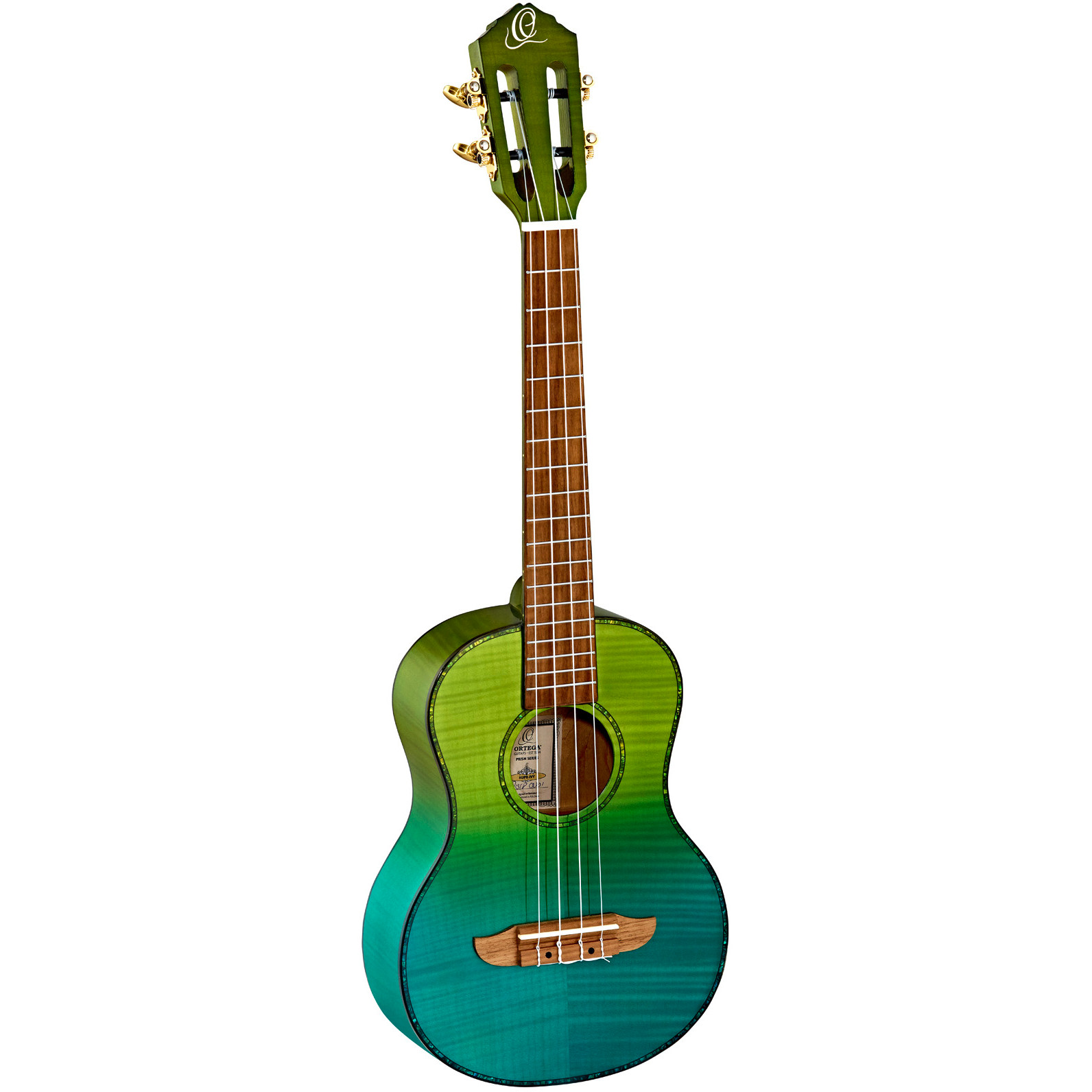 Ortega Prism series RUPR IVY tenor ukulele with bag