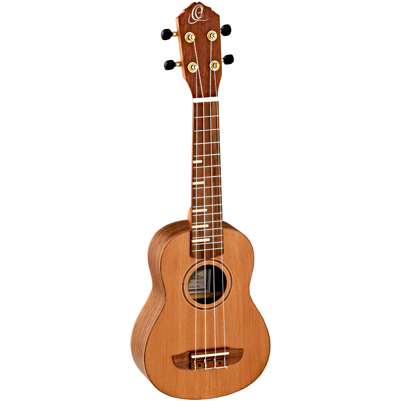 Ortega Timber series RUTI SO soprano ukulele, cedar, with bag