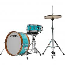 Tama LJK28S-AQB Club Jam Mini 2-piece shell set, Aqua Blue