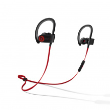 (B-Ware) Beats Powerbeats 2 Wireless BK In-Ear Kopfhörer, schwarz/rot