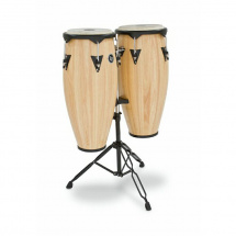 (B-Ware) Latin Percussion LP646NY-AW City Series Congaset natur