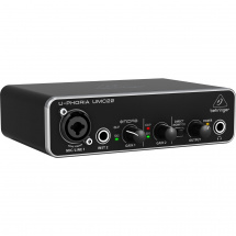 (B-Ware) Behringer U-Phoria UMC22 USB Audio-Interface