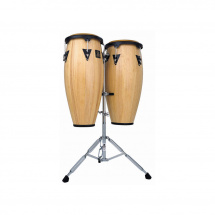 Latin Percussion LPH646-SNC Highline Congaset, seidenmatt naturell