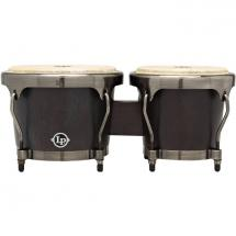 Latin Percussion LPH601-SBB Highline Bongo-Set, schwarz (matt)