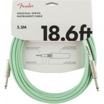 Fender Original Cables instrument cable, 5.5 m, surf green