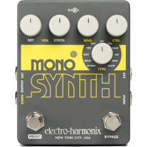 Electro Harmonix Mono Synth guitar synthesizer effects pedal