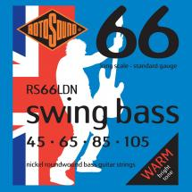 Rotosound 66LDN Swing Bass 66 Saitenset für Bassgitarren 45-105, Nickel