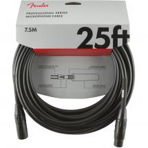 Fender Professional Series microphone cable, 7.5 m