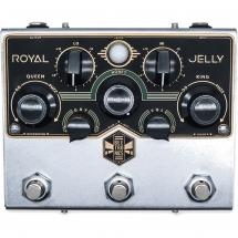 Beetronics Royal Jelly Overdrive/Fuzz, Limited Edition Black