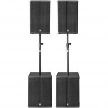 HK Audio L3 Bass Power Pack speaker set
