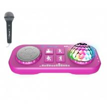 iDance Party Box XD1 Pink 5-in-1 wireless karaoke system