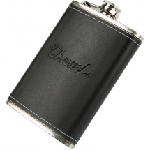 Charvel Toothpaste Logo Flask hip flask with logo