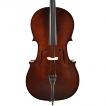 (B-Ware) Leonardo LC-2044 4/4 cello with bow and carrying bag