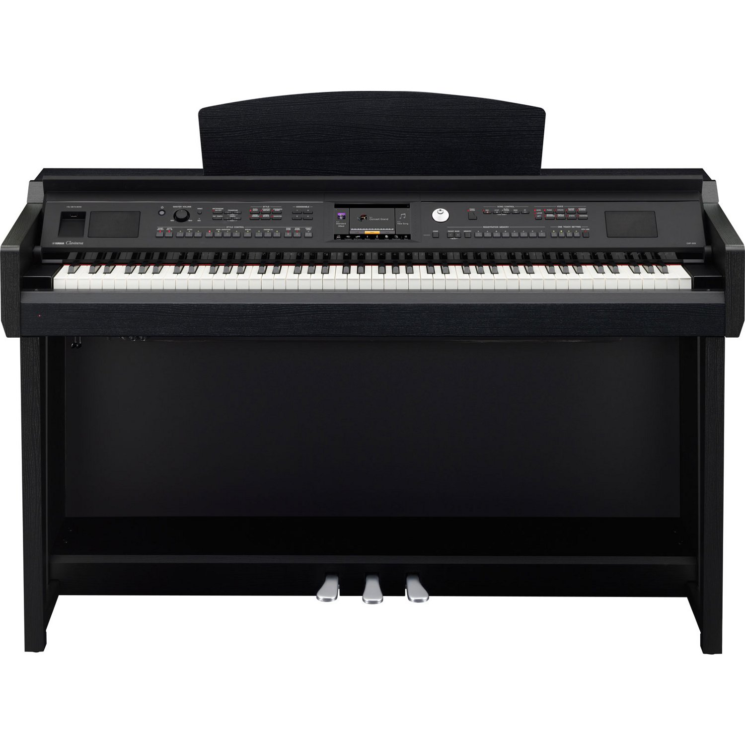 yamaha cvp605b e piano black walnut kaufen bax shop. Black Bedroom Furniture Sets. Home Design Ideas