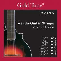 Gold Tone FFS12EX Mando-Guitar F-Style Strings string set