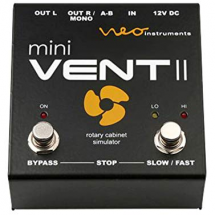 (B-Ware) NEO Instruments mini Vent II Leslie 122 Rotary Effect-pedaal
