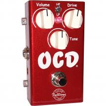 Fulltone OCD V2 Candy Apple Red limited edition overdrive