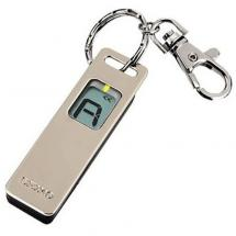 Seiko ST-02 compact chromatic tuner with keyring