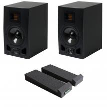 Adam A5X Studio monitors + MoPAD isolation