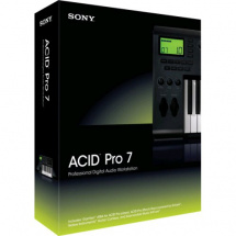 Sony Acid Pro 7 Software für  Audioproduktionsstudien (Download)