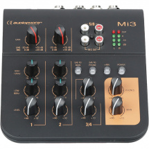 Audiophony Mi3 3-channel compact mixer