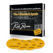 Rob Papen The 4 Element Synth Buch und 4 DVD's