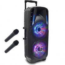 (B-Ware) iDance Groove 870 tragbares Bluetooth-Soundsystem