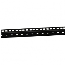 Adam Hall 61535B2 Heavy Duty Rack Strip, 2U, black