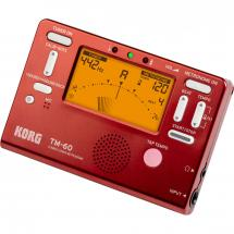 Korg TM-60 combo tuner and metronome, red