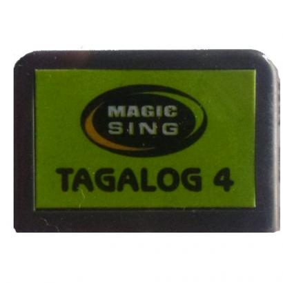 Magic Sing Tagalog Songchip Vol. 4 mit 837 Songs