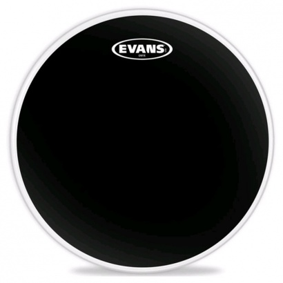 Evans B14ONX2 14 Zoll, Onyx Snare, Tomtom, Timbale Black