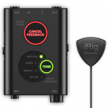 (B-Ware) IK Multimedia iRig Acoustic Stage microphone system