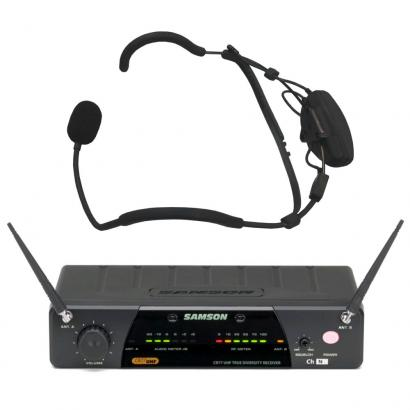 Samson AirLine 77 Funk-Headset-System Qe Fitness (E1, 863,125 MHz) (E1, 863.125 MHz)