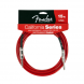 Fender California Instrumentenkabel, 6 Meter, Candy Appel Red