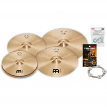 (B-Ware) Meinl PA15182022M Pure Alloy cymbal set + accessories