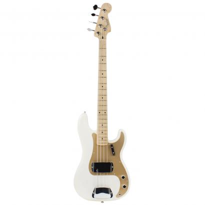 Fender American Vintage 58 Precision Bass White Blonde MN