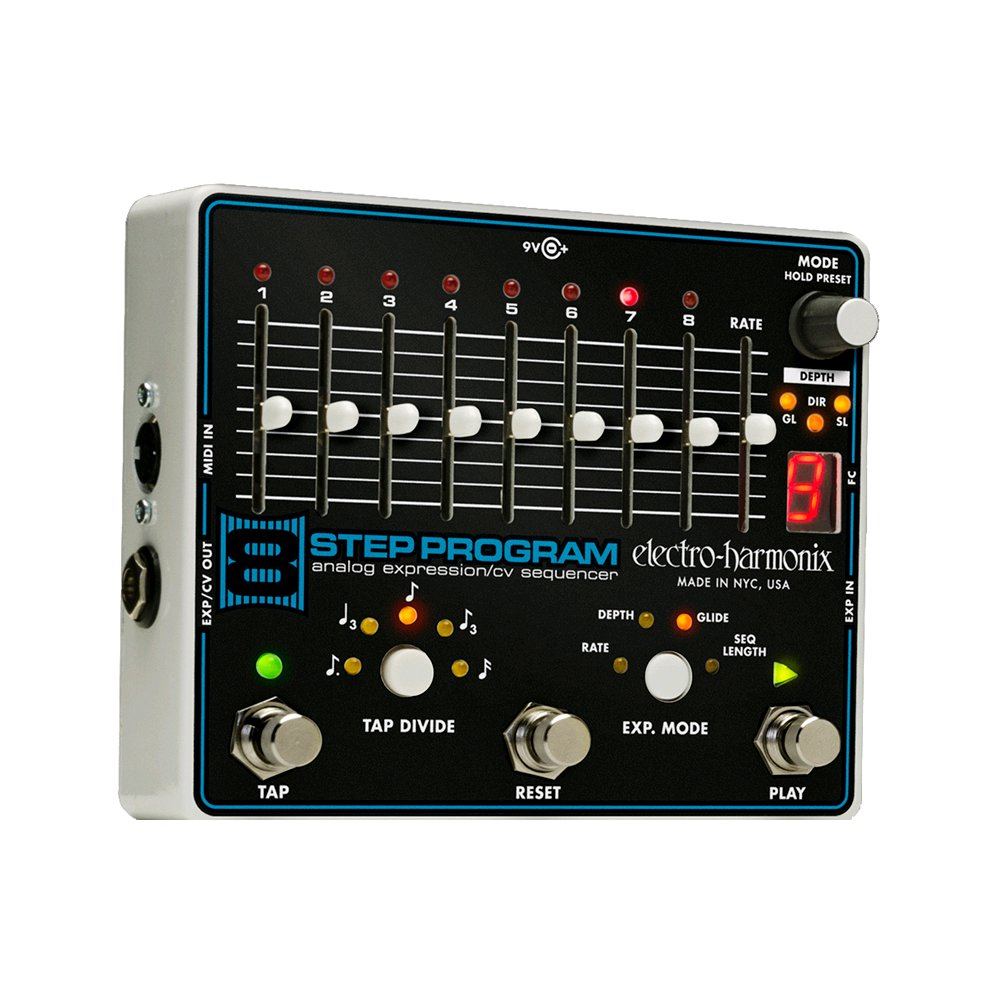 Electro Harmonix 8 Step Program Analog Expression CV Sequenzer