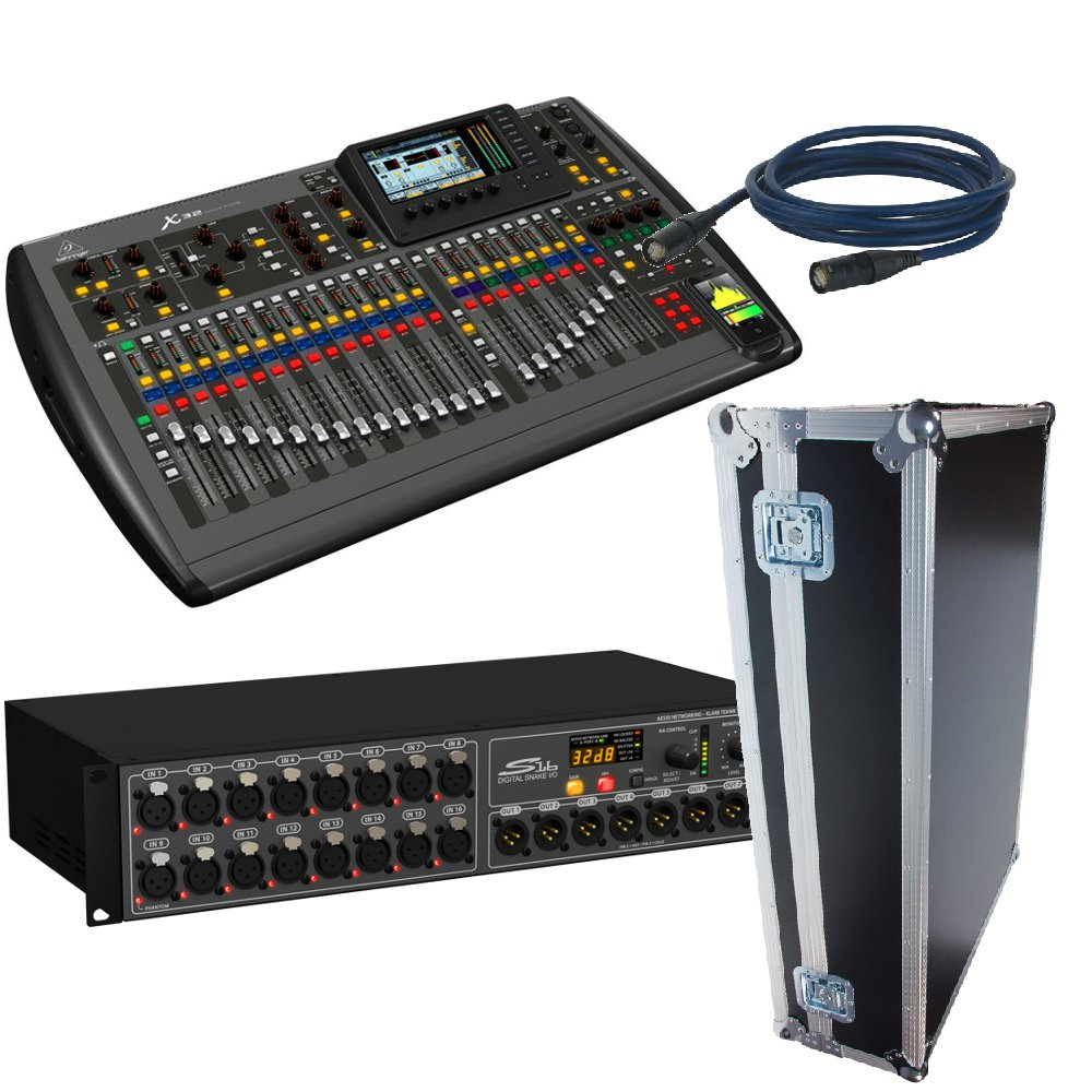 Behringer X32 Digitalmischpult Live Set Kaufen Bax Shop Rack Performance Setup With S16 And P16 Monitor System