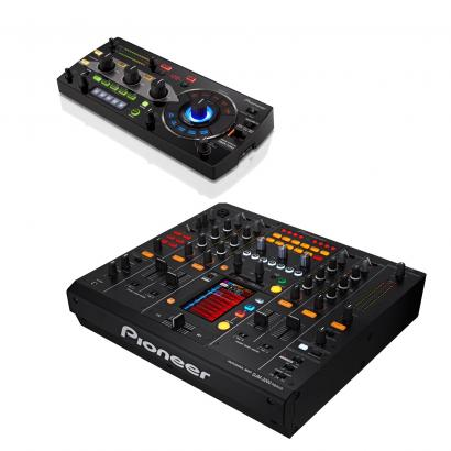 Pioneer RMX-1000 Remix Station und DJM-2000nexus im Set