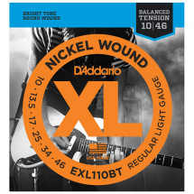 D'Addario EXL110BT Balanced Tension Regular Light .010 – .046