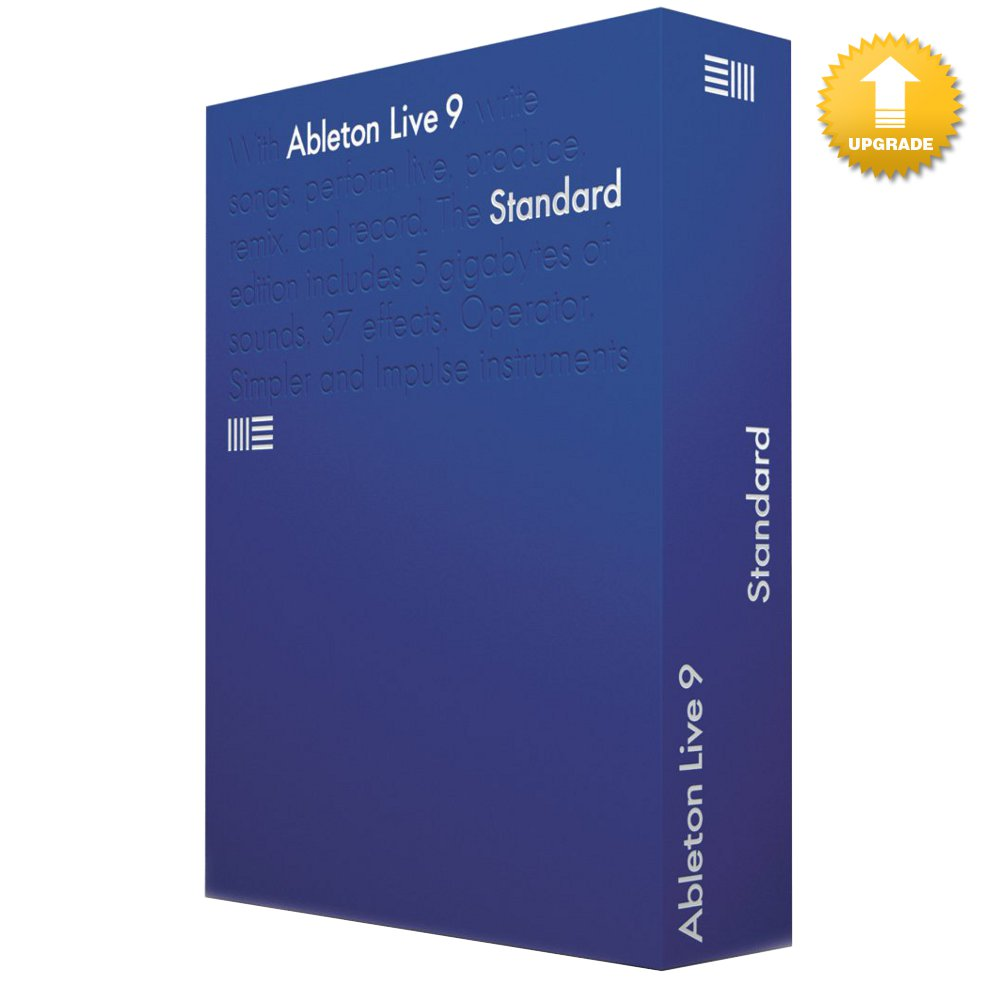 ableton live 9 standard english upgrade live lite oem kaufen bax shop. Black Bedroom Furniture Sets. Home Design Ideas